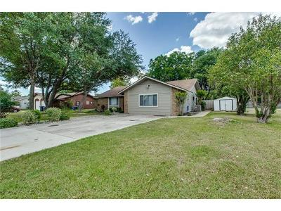 Georgetown Single Family Home Pending - Taking Backups: 2700 Cottonwood Dr