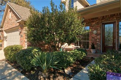 Cedar Park Single Family Home Pending - Taking Backups: 1606 Purple Sage Dr