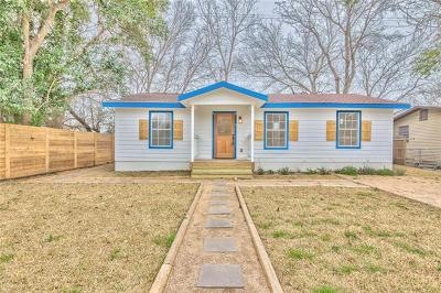 Travis County Single Family Home For Sale: 1128 Richardine Ave