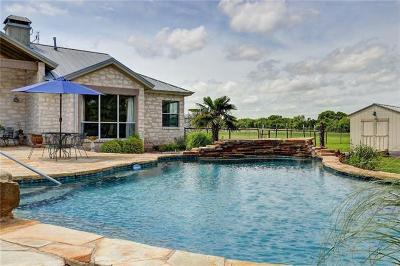 Hutto Single Family Home For Sale: 341 Heritage Loop