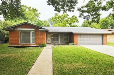 Travis County Single Family Home Pending - Taking Backups: 5614 Delwood Dr