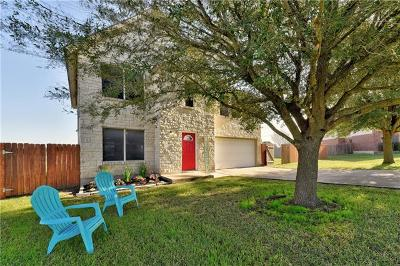 Round Rock Single Family Home Pending - Taking Backups: 321 Santolina Ln