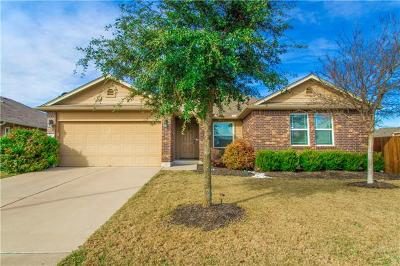 Hutto Single Family Home For Sale: 300 Hendelson Ln