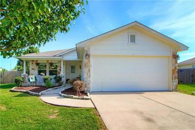 Hutto Single Family Home For Sale: 114 Hersee Ct