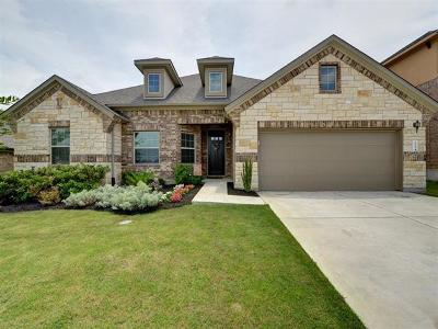 Pflugerville Single Family Home For Sale: 18304 Copper Grassland Way