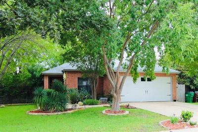 Round Rock Single Family Home For Sale: 3402 Perch Trl