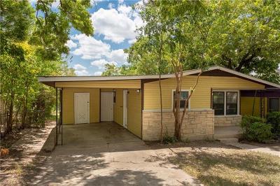 Austin Single Family Home For Sale: 2205 E 18th St #A