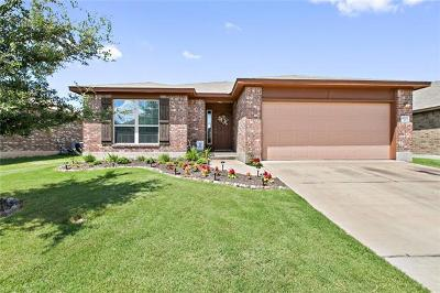 Pflugerville Single Family Home For Sale: 18721 Leigh Ln
