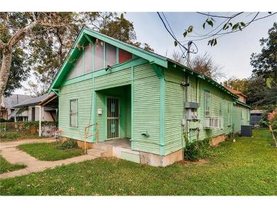 Single Family Home For Sale: 1904 Garden St #A
