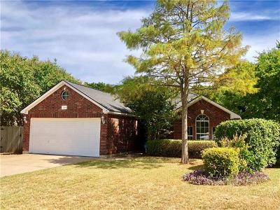 Round Rock Single Family Home Pending - Taking Backups: 2209 Grove Dr