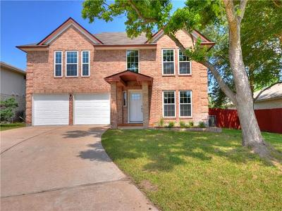 Pflugerville Single Family Home For Sale: 708 Wagon Wheel Trl