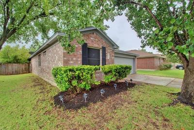 Pflugerville Single Family Home Pending - Taking Backups: 1811 Steeds Xing