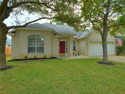 Round Rock Single Family Home For Sale: 8229 Broken Branch Dr