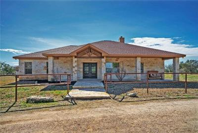 Lampasas Single Family Home Active Contingent: 7200 County Road 101