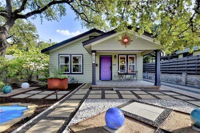 Austin TX Single Family Home For Sale: $750,000