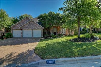 Austin Single Family Home Pending - Taking Backups: 12104 Portobella Dr