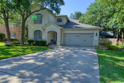 Round Rock Single Family Home For Sale: 2046 Cedar Grove Cv