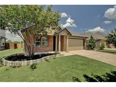 Pflugerville Single Family Home For Sale: 19605 Copper Point Cv