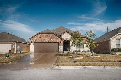 Round Rock Single Family Home For Sale: 3625 Esperanza Dr