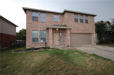 Round Rock Rental For Rent: 2814 Shadowpoint Cv