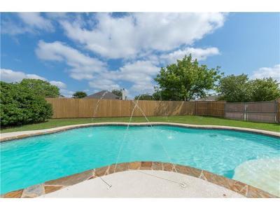 Leander Single Family Home For Sale: 809 Sonny Dr