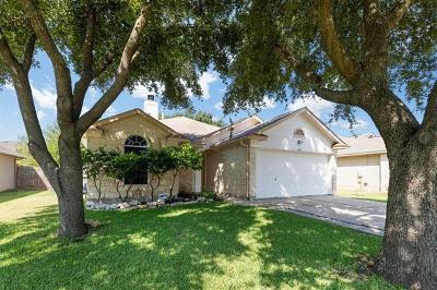 Leander Single Family Home Pending - Taking Backups: 1309 Mason Creek Blvd
