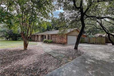 Travis County, Williamson County Single Family Home Pending - Taking Backups: 10103 Hidden Meadow