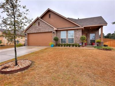 Leander Single Family Home For Sale: 400 Tula Trl