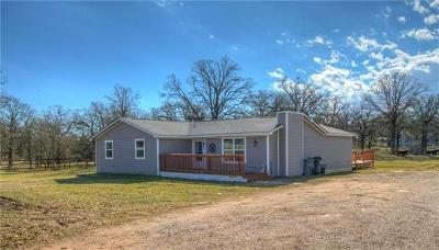 Cedar Creek Single Family Home For Sale: 1619 State Highway 71
