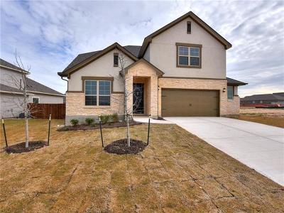 Leander Single Family Home For Sale: 1112 Cactus Apple St