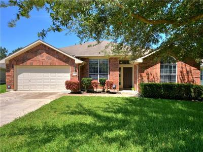 Round Rock Single Family Home For Sale: 1012 Klondike Loop