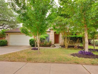 Cedar Park Single Family Home Pending - Taking Backups: 1313 Roadrunner Dr