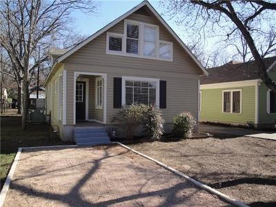 Austin Single Family Home For Sale: 4011 Avenue F