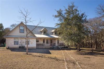Wimberley Single Family Home For Sale: 8 Heather Brook Ln