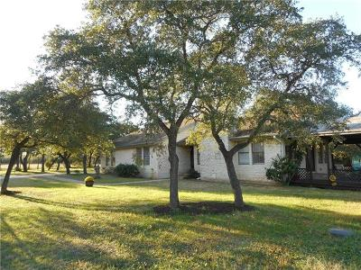 Leander Single Family Home For Sale: 4000 County Road 279