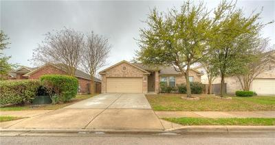 Round Rock Single Family Home For Sale: 4106 Meadow Bluff Way