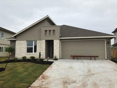 Manor Single Family Home For Sale: 9916 Becoming