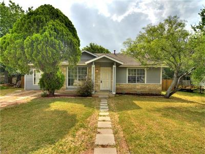 Austin Single Family Home For Sale: 7205 Chisos Pass