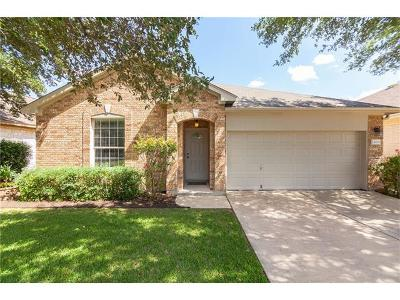 Round Rock Single Family Home For Sale: 4031 Barlow Dr