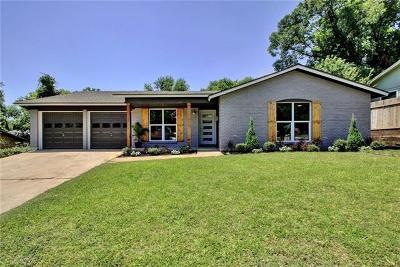 Austin Single Family Home Pending - Taking Backups: 6309 Huntleigh Way