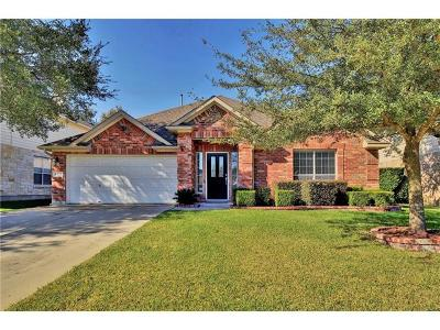 Cedar Park Single Family Home For Sale: 613 Hickory Run Dr
