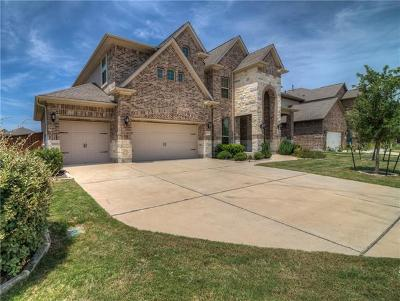 Round Rock Single Family Home For Sale: 5052 Savio Dr