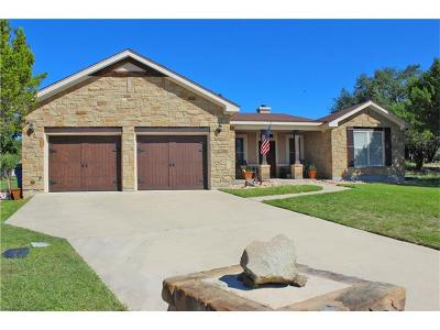 Lago Vista Single Family Home For Sale: 3622 Bunyan Cir