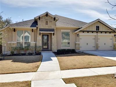 Leander Single Family Home For Sale: 620 Judge Fisk Dr