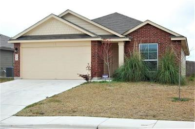 Lockhart Single Family Home For Sale: 315 Windridge