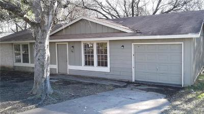 Hays County, Travis County, Williamson County Single Family Home Pending - Taking Backups: 5119 Pepper Ln