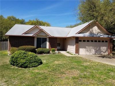 Austin Single Family Home For Sale: 12713 Rhea Ct