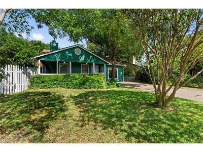 Hays County, Travis County, Williamson County Single Family Home For Sale: 1802 Kinney Ave