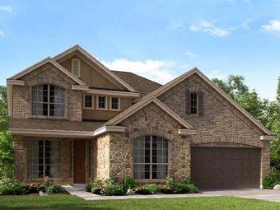 Round Rock Single Family Home For Sale: 2908 Cattleman Gln