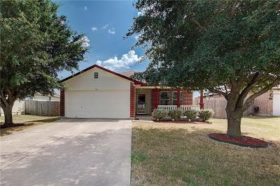 Hutto Single Family Home For Sale: 314 Stewart Dr